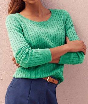 sweter pistacjowy