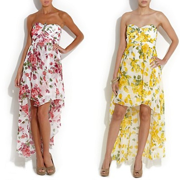 asymetryczna sukienka