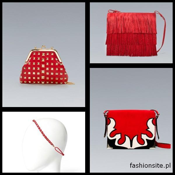 czerwone torebki