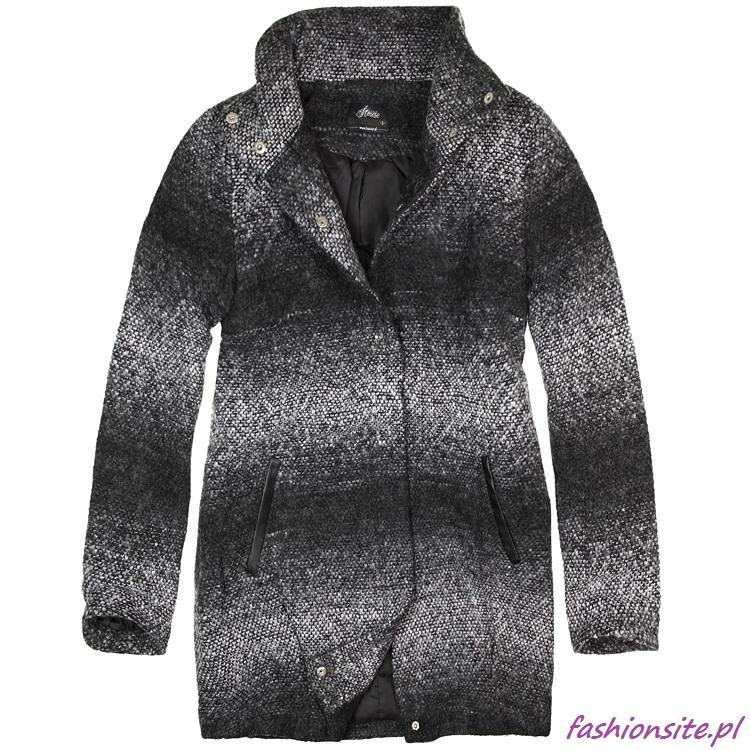 płaszcz damski cieniowanie