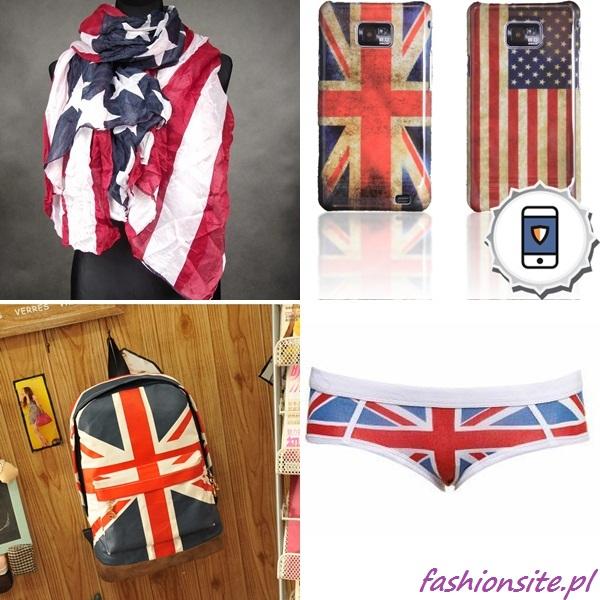 motyw flagi w ubraniach