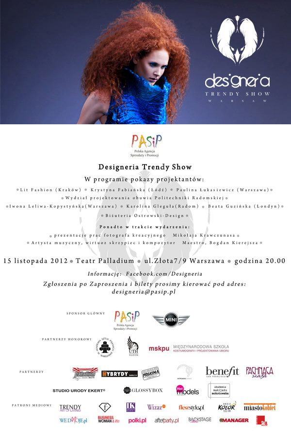 designeria trendy show Fashionsite.pl