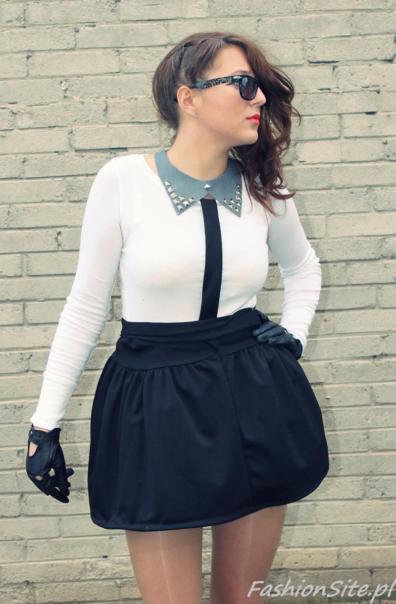 mini spódniczka - blog o modzie