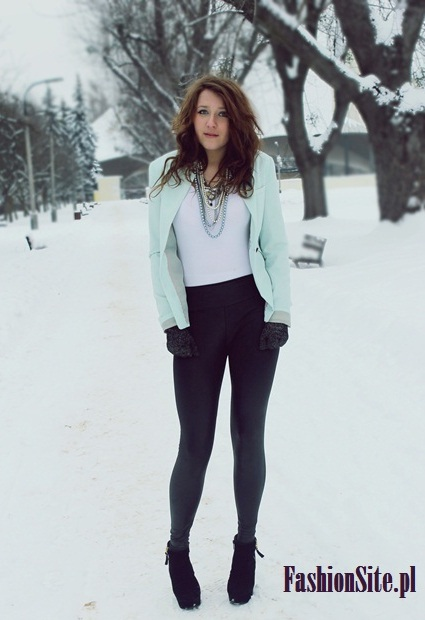 żakiet stylizacja blog o modzie