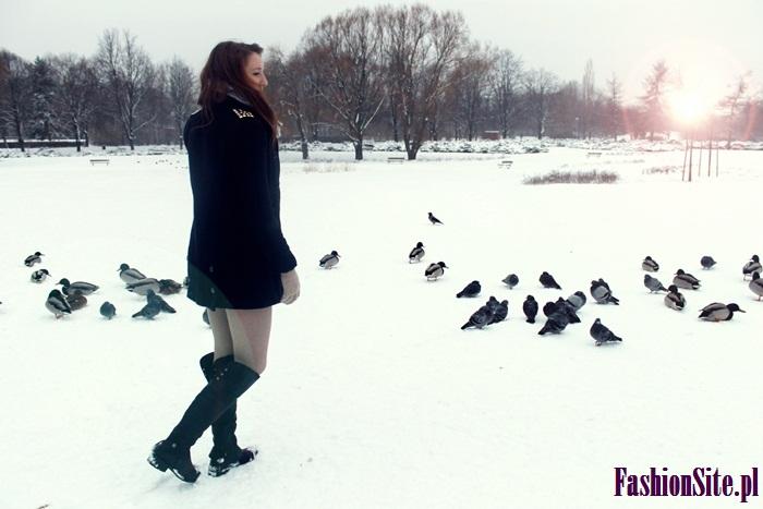 zimowe modowe zdjecie