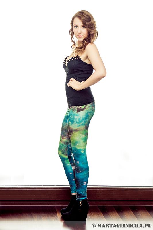 blog o modzie legginsy kosmos