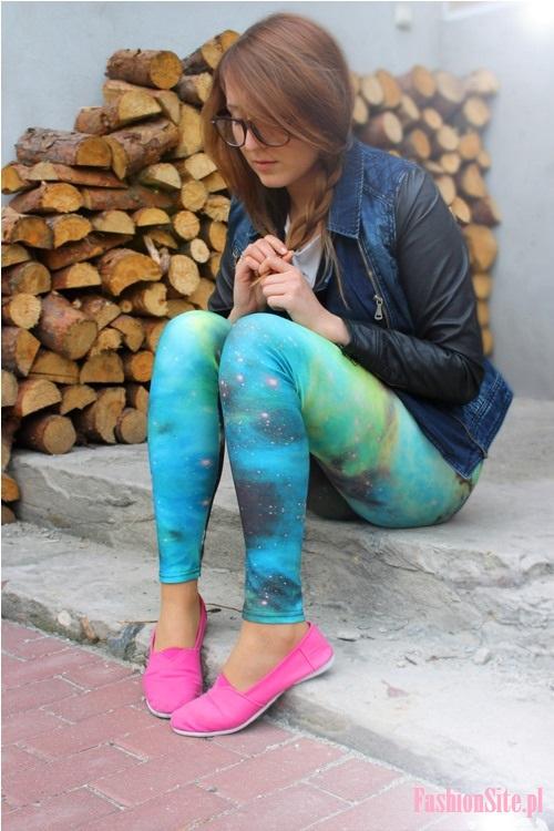 kolorowe buty trampki