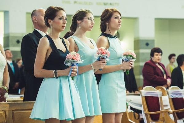 sukienki druhenek