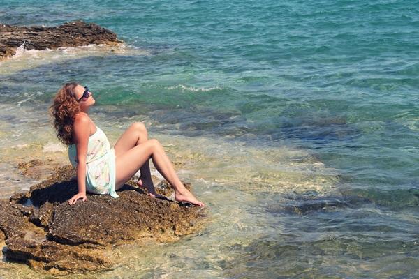 zdjecie nad morzem moda blog