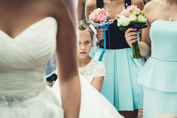 zdjecie z druhenkami sukienki