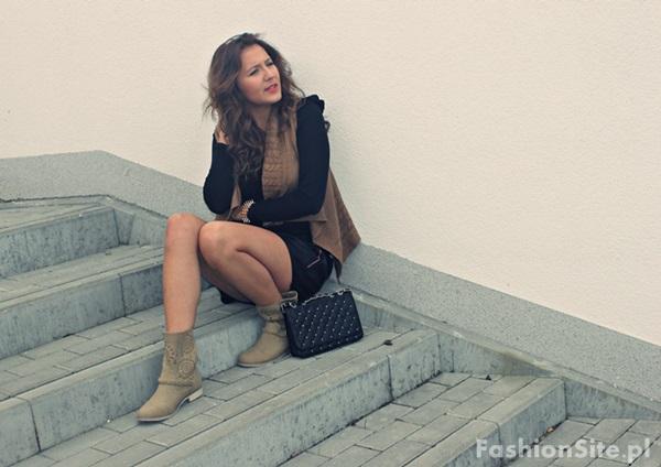 modna kamizelka na jesien