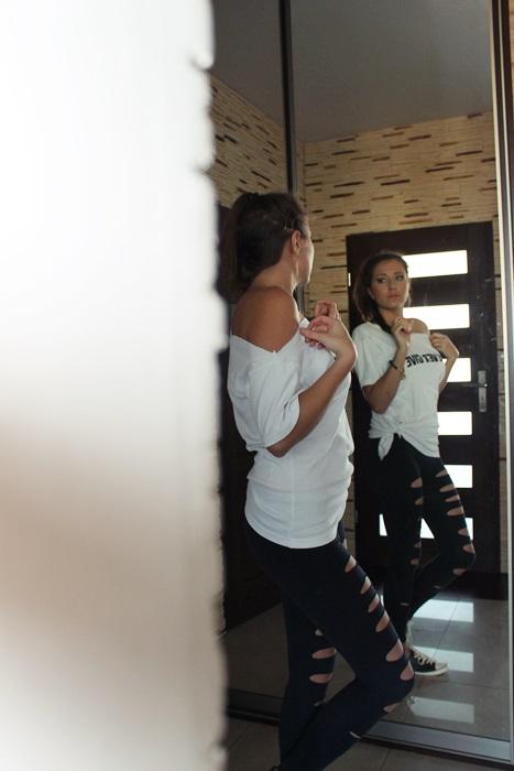 zdjecie w lustrze