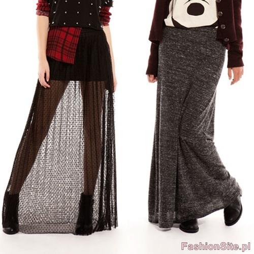dlugie spodnice modne
