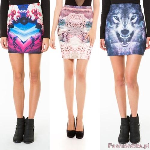 spodnica desen 2013 trendy