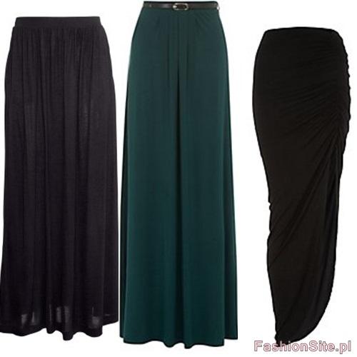 spodnica dluga 2013 moda