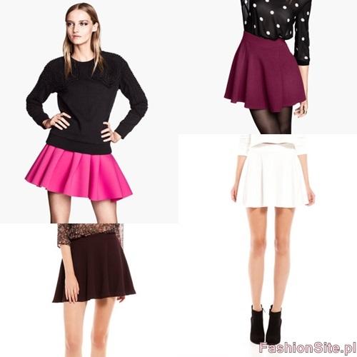 spodnice trendy 2013 jesien klosz