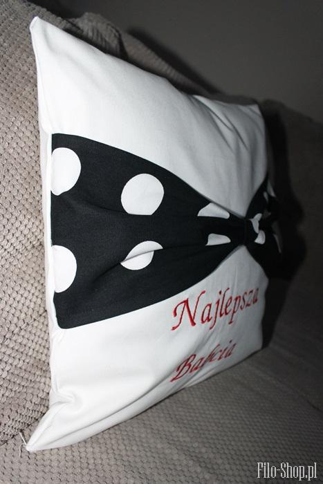 poduszka z kokarda