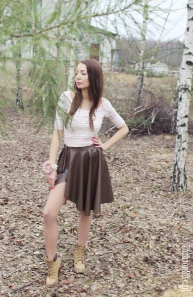 spodnica modna wiosna 2014