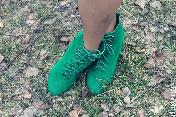 zielone botki  wiosna 2014