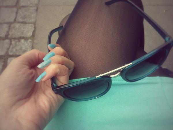 okulary-turkus