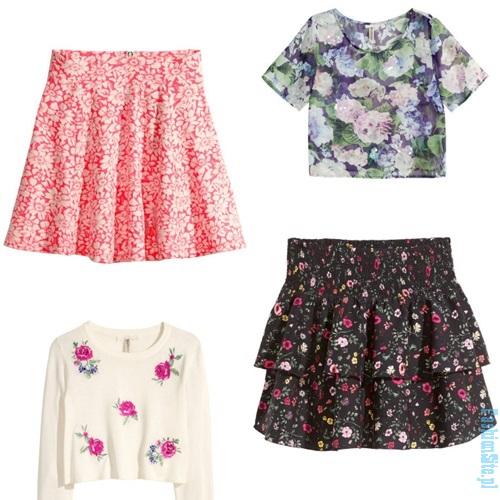 moda na kwiaty wiosna