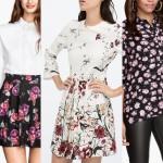 moda kwiaty wiosna