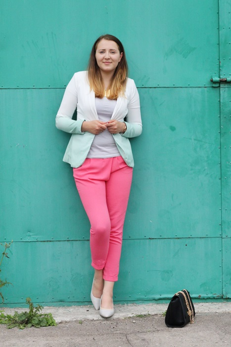 look eleganckie spodnie