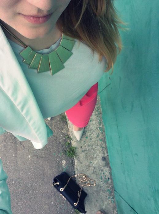 stylizacja lato spodnie