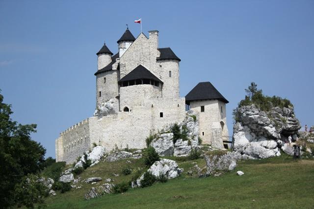 zamek w ogrodzieniecu