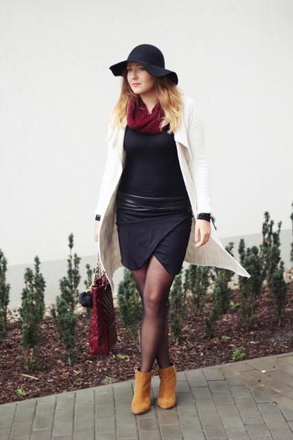 dlugi sweter trendy blog o modzie