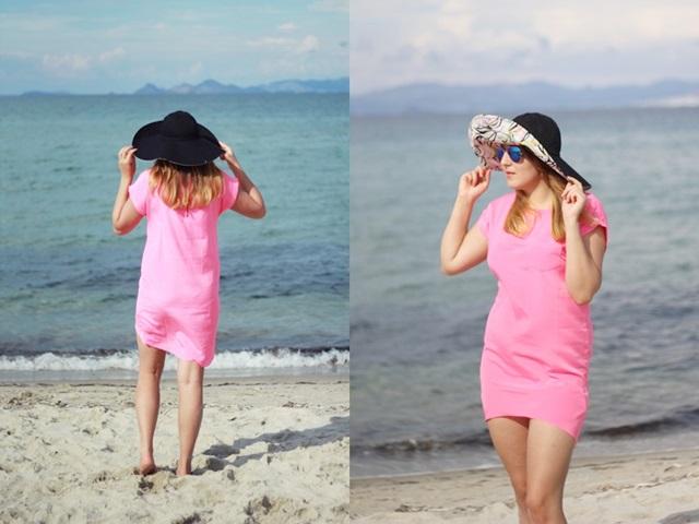 stylizacja lato kapelusz