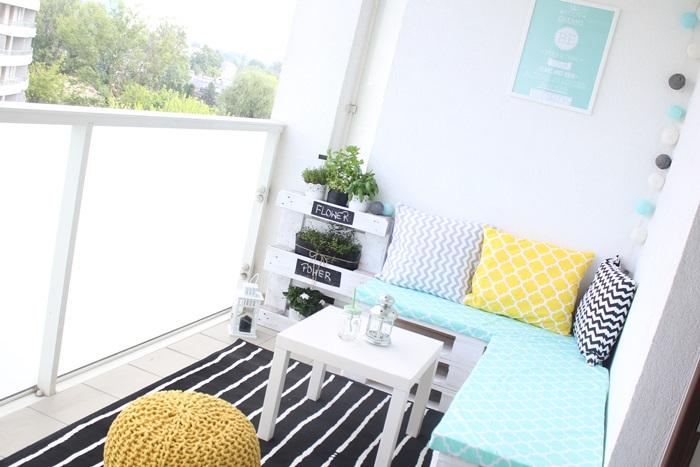 balkon taras palety