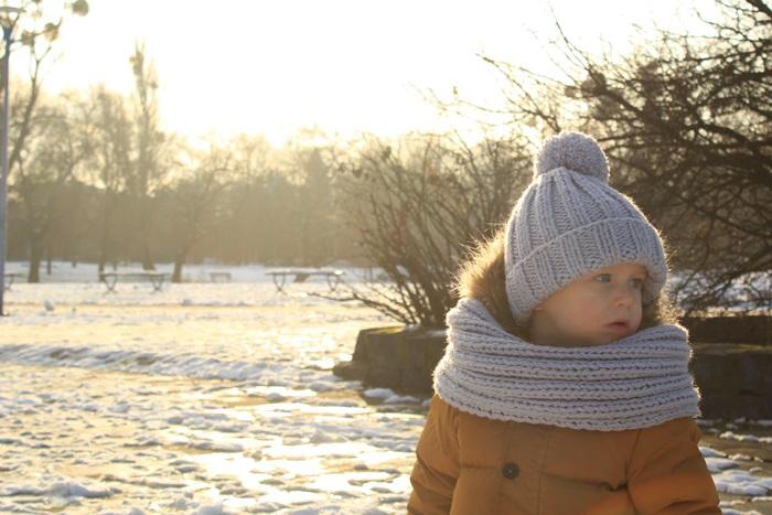 stylizacja zima dziecko