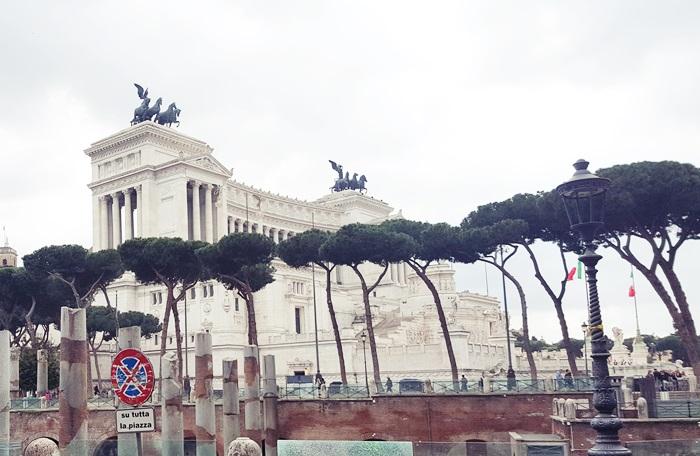 rzym plac wenecki