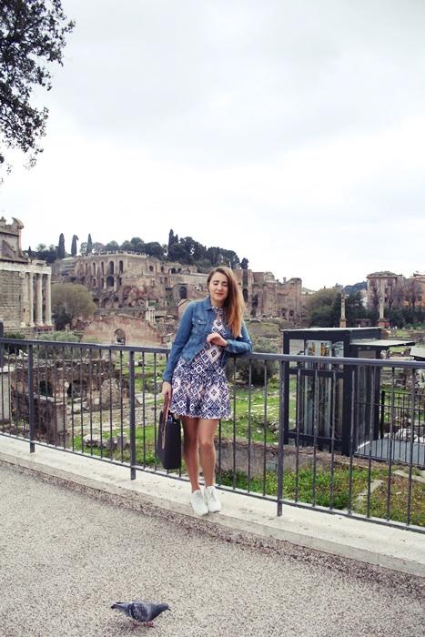 stylizacja na wakacje rzym