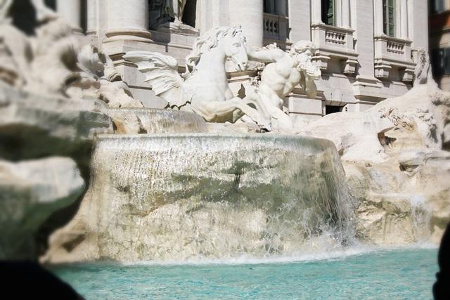 fontanna di trevi rzym