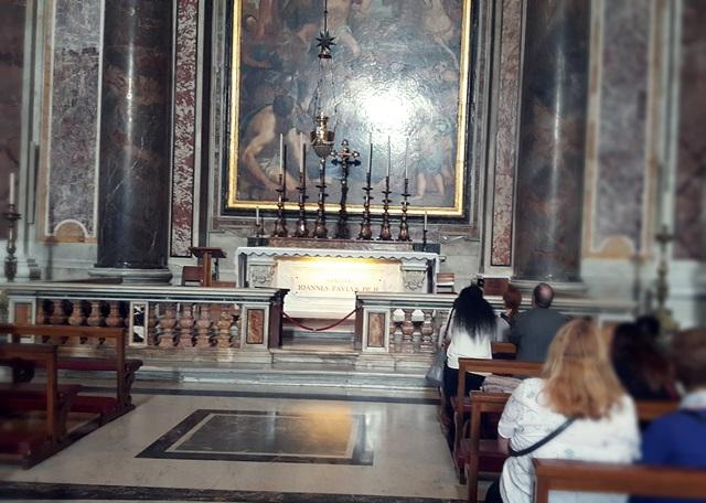 grob jana pawła ii watykan