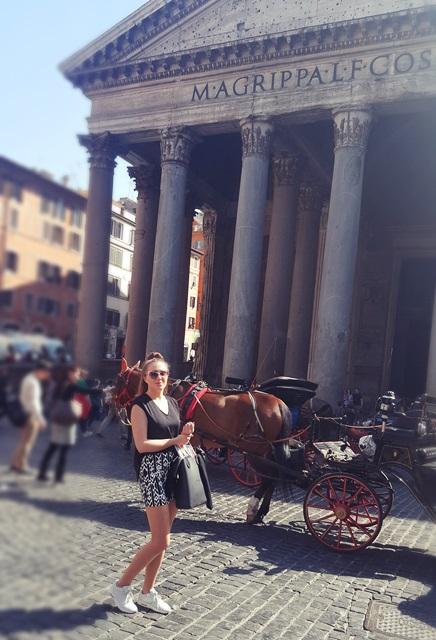 rzym zwiedzanie panteon